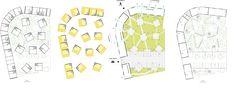 Hondelatte Laporte Architectes Lot 1/2 - Les Diversités, Bordeaux, France Laporte, Archi Design, Bordeaux France, Diagram, Sketches, Drawings, Art, Architects, Art Background