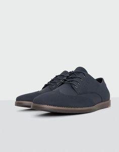 the best attitude 5d667 51a60 Pull Bear - hombre - novedades - calzado - zapato casual azul - marino -  13505212-