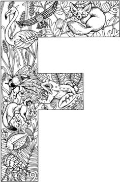 The Letter F Coloring Pages. 30 the Letter F Coloring Pages. Letter F is for Flag Coloring Page Free Coloring Pages Line Letter A Coloring Pages, Fox Coloring Page, Penguin Coloring Pages, Coloring Letters, Pattern Coloring Pages, Disney Coloring Pages, Free Printable Coloring Pages, Colouring Pages, Coloring Pages For Kids