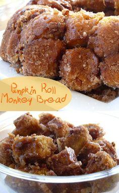 If you love pumpkin recipes and monkey bread then Pumpkin Roll Monkey Bread…