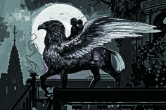 Buckbeak-- perfect illustration..