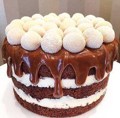 Imagen de cake, chocolate, and food