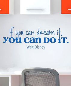 'Dream It Do It' Wall Quotes Decal.