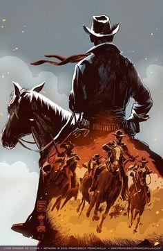 Lone Ranger #2 Cover