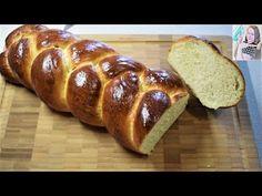 Lahodná vianočka, jednoduchá príprava a pletenie. - YouTube Bread, Youtube, Food, Brot, Essen, Baking, Meals, Breads, Buns