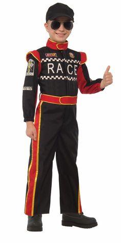 Race Car Costumes - Mens, Womens, Child Race Car Driver ...