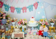 Festa infantil: Peppa Pig no verão