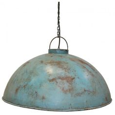 Trademark Living lamp antiek blue