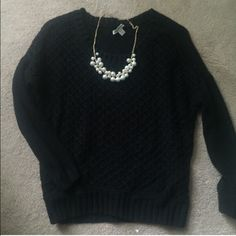 SOLD! American Eagle Black Sweater Great Condition! American Eagle Outfitters Sweaters