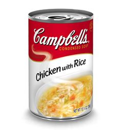 Campbell's Soup Chicken With Rice.  http://affordablegrocery.com