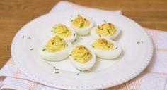 Gevulde eieren met forel - Recept - Allerhande