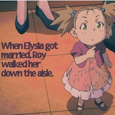 I'M GOING TO START CRYING. THIS IS SO SWEET, YET SO SAD. EVEN WORSE, ROY WASN'T ABLE TO EVEN SEE HER.