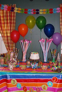 cute balloon arrangement