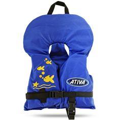 Ativa Baby: Equipamento auxiliar de flutuação (EAF): Desenvolvido especialmente para crianças. Permite movimentos livres sem risco de furar ou sair dos braços.