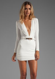 STYLE STALKER REVOLVE Exclusive Valiant Dress in Ivory - Dresses