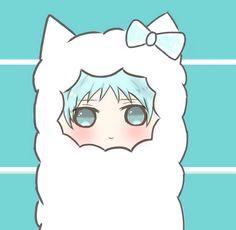 kuroko, sheep, chibi