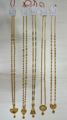 Antique Gold Mangalsutra 916 Hallmark By : Mahavir Jewellers, Mumbai Contact what's app. Gold Chain Design, Gold Jewellery Design, Bridal Jewellery, Wedding Jewelry, Gold Jewelry, Beaded Jewelry, Jewelry Bracelets, Tragus Earrings, Gold Earrings