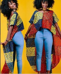 Collection of the most beautiful and stylish ankara peplum tops of 2018 every lady must have. See these latest stylish ankara peplum tops that'll make you stun Unique Ankara Styles, Beautiful Ankara Styles, Ankara Dress Styles, Latest Ankara Styles, Ankara Styles For Women, African Wear, African Attire, African Dress, African Clothes