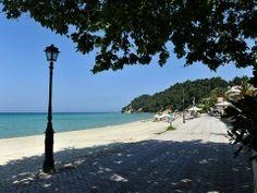 View of #Siviri beach at Kassandra #Halkidiki #Greece