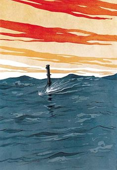The Assassin by Cory Kilvert - Art Print The Assassin by Cory Kilvert - Art Print 1915/USA #SilentService #Submarines