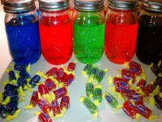 Jolly Rancher Vodka Recipe Shots   Jolly Rancher Vodka with Homemade Infusions Recipe Video by ...