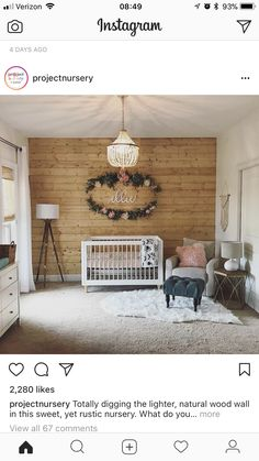 accent wall chandelier neautrals but pops of colour = gorgeous ! 2019 accent wall chandelier neautrals but pops of colour = gorgeous ! The post accent wall chandelier neautrals but pops of colour = gorgeous ! 2019 appeared first on Nursery Diy. Girl Nursery, Girl Room, Nursery Ideas, Nursery Room, Rustic Nursery, Rustic Baby, My New Room, Kids Bedroom, Girl Bedrooms