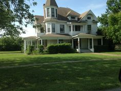 Old Victorian Home in Van Alstyne Texas.