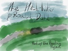 Tuttle card for 'The Hitch Hiker' by Roald Dahl, part of The Reading Project
