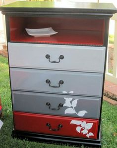 From old to new/ DIY furniture makeover / dresser makeovers