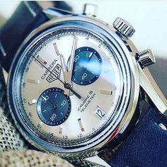 REPOST!!!  #tagheuer #carrera #slimline #watch #watches #youtube #watchfam #watchnerd #watchnut #rolex #omega #breitling #monaco #chronograph  Photo Credit: Instagram ID @watches101yt