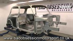 Bad Obsession Motorsport's mental project to shoehorn the entire running gear from a Toyota Celica GT-Four into a Mini without lengthening or widening it con. Binky, Running Gear, Rally Car, Projects, Log Projects, Blue Prints, Running Wear