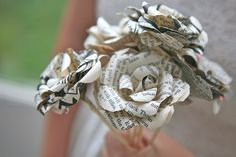 paper wedding bouquets - Google Search