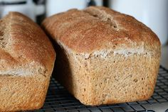 Honey Whole Wheat Sourdough Bread from Green Bean Gardens