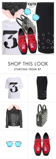 """""""NYFW"""" by paculi ❤ liked on Polyvore featuring Topshop, Bandolera, StreetStyle, NYFW and Winter"""