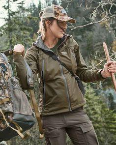 Jagdjacke von Merkel Gear für die Jägerin #jagd #huntress