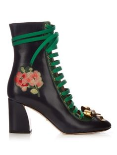 Finnaly lace-up boots | Gucci