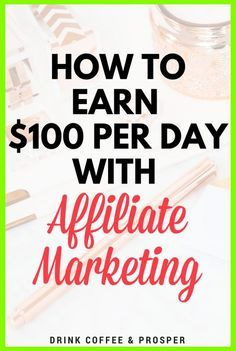 Affiliate Marketing Tips So You Can Get Started. Various web marketing tactics are used in order to get a job finished. The jobs that you can get done often depend on whether you have the technological ca Affiliate Marketing, Marketing Program, Digital Marketing Strategy, Inbound Marketing, Marketing Training, Marketing Strategies, Earn Money Online, Make Money Blogging, Make Money From Home