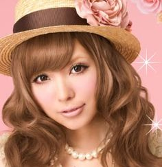 I love this color! Wonder if I can pull it off?? Japanese hair dye called caramel latte!
