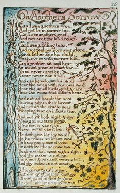 On Another's Sorrow, illustration from 'Songs of Innocence and of Experience' pl.28 1789-94