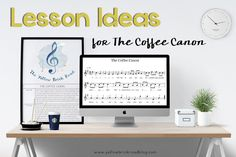 A free lesson guide printable. This would be a fun lesson for teaching rounds and form in elementary music.