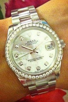 Diamond Rolex Watch! I wish...
