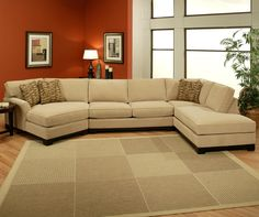 Sagittarius Casual 3 piece Sectional with LAF Cuddler Chaise by Jonathan Louis - BigFurnitureWebsite - Sofa Sectional