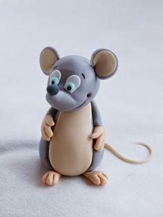 caramelo y canela. Tutorial ratón
