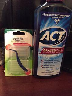 Wax and braces mouthwash - health and beauty Braces Food, Braces Tips, Kids Braces, Dental Braces, Teeth Braces, Braces Problems, Cute Braces Colors, Getting Braces, Best Teeth Whitening Kit