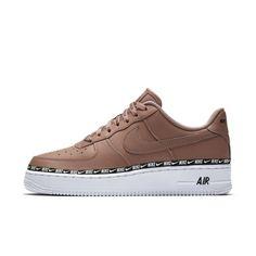 92461c5e6705 Nike Air Force 1  07 SE Premium Overbranded Women s Shoe Size 10 (Desert  Dust)