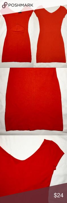 🍒 Topshop Petite Red Bodycon Dress (Like New) Topshop Red Bodycon Cut-Out Dress! No Rips or Tears! Notice: The Stock Image Is Not The Exact Dress But Is Similar To How It Would Look! Accepting All Reasonable Offers and Able To Ship The Same Day! 🍒  Great Condition | No Stains | Fully Inspected  Size: 4 Topshop Dresses Mini