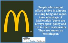 Random Facts : McRefugees | did you know