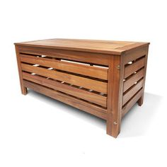 Timber Storage Bench
