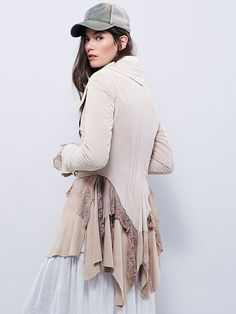 Free People Storm Warning Lacey Suede Jacket at Free People Clothing Boutique