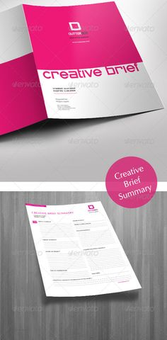 Creative Brief Template - GraphicRiver Previewer